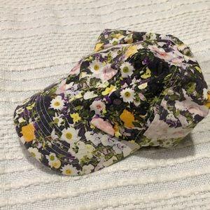 Biltmore for Madewell floral baseball cap hat